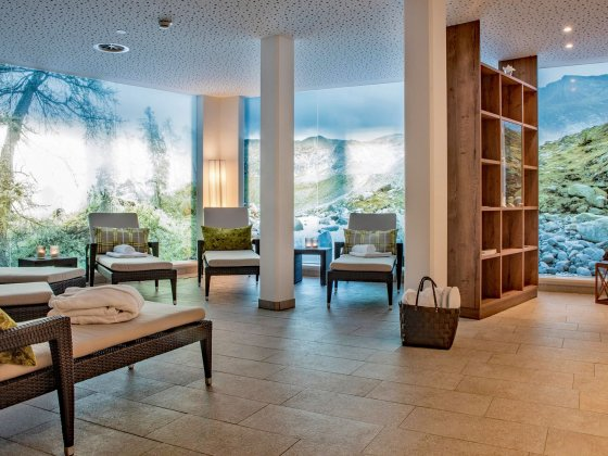 rauris wellnesshotel salzburger land ruheraum
